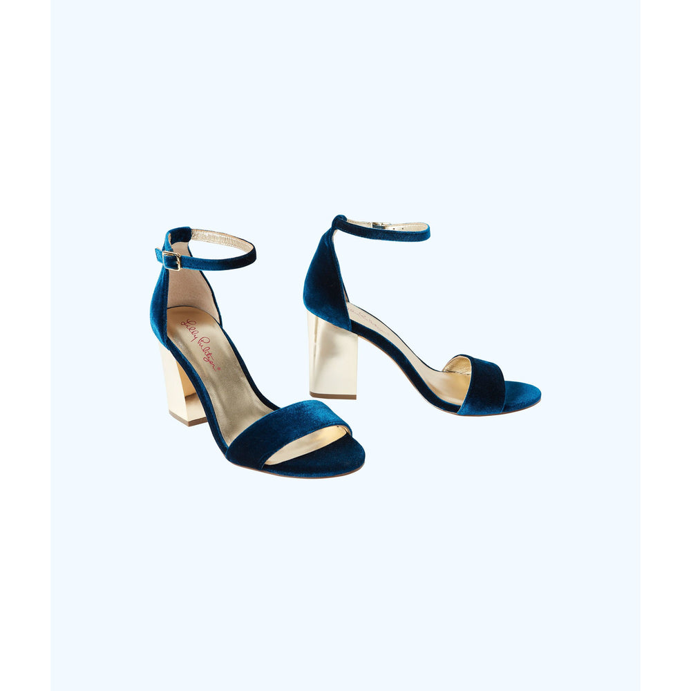 Load image into Gallery viewer, Lilly Pulitzer Amber Lynn Sandal Inky Navy