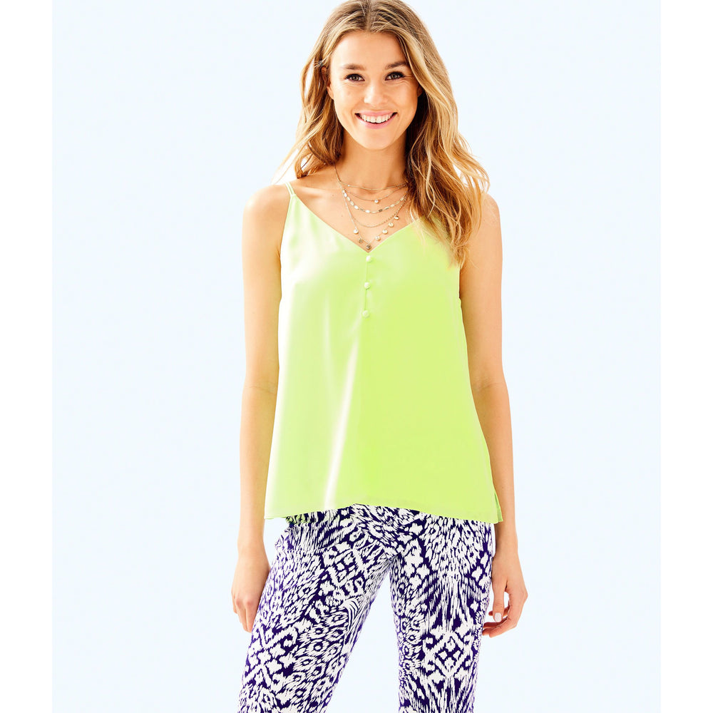 Lilly Pulitzer Lailah Cami Celery