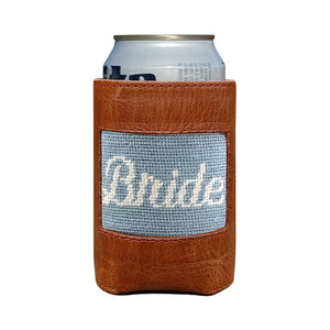 Load image into Gallery viewer, Smathers & Branson Bride Needlepoint Drink Hugger