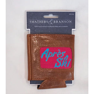 Smathers & Branson Après Ski Needlepoint Can Cooler
