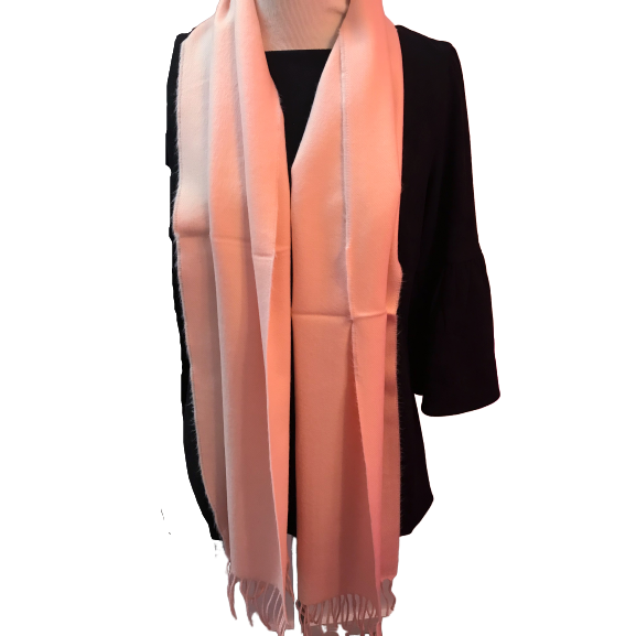 Load image into Gallery viewer, Seattle Silver Pink Cashmere Scarf