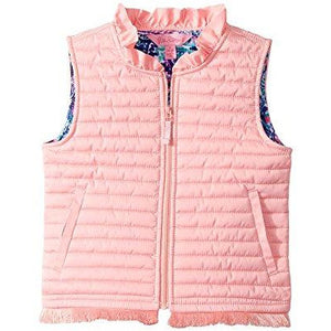 Lilly Pulitzer Girls Levie Vest Paradise Pink