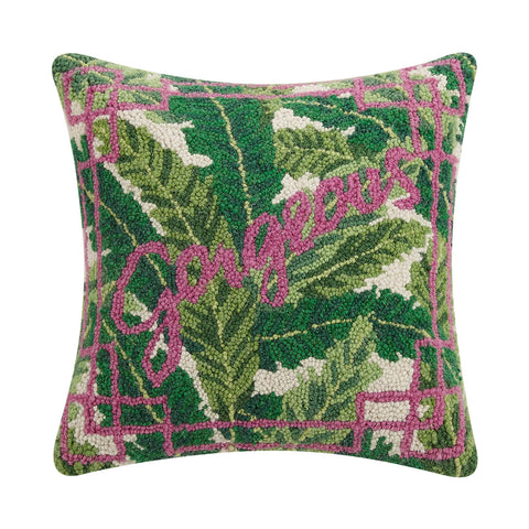 Palm Beach Gorgeous Hook Pillow