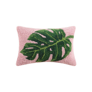 Preppy Palm Leaf Hook Pillow