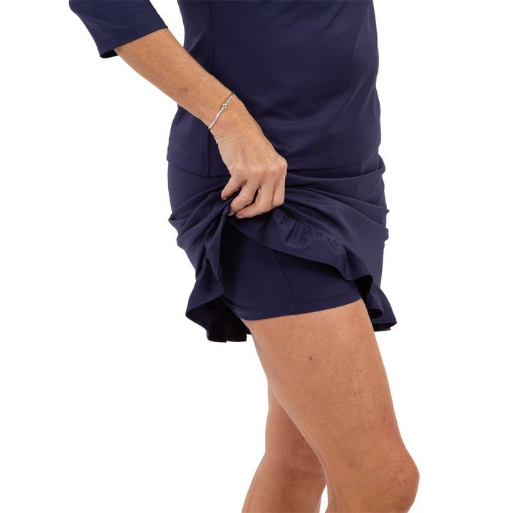 Load image into Gallery viewer, Sailor Sailor Ruffle Skort Navy