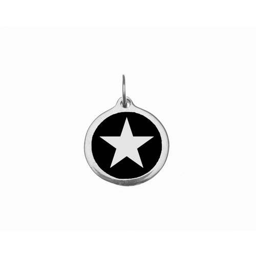 Small Black Star Charm