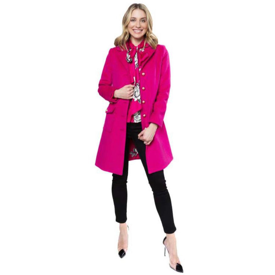 Load image into Gallery viewer, Julie Brown Pixie Jacket - Fuchsia