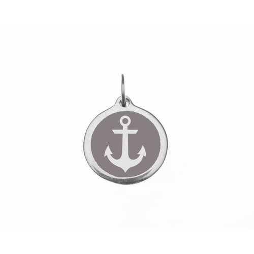 Small Grey Anchor Charm