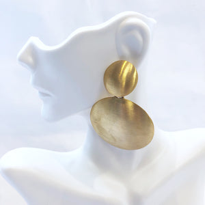 Lisi Lerch Robin Earring Brushed Gold