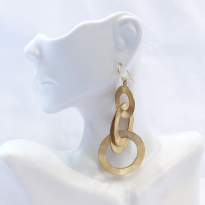 Lisi Lerch Emily Earring Brushed Gold