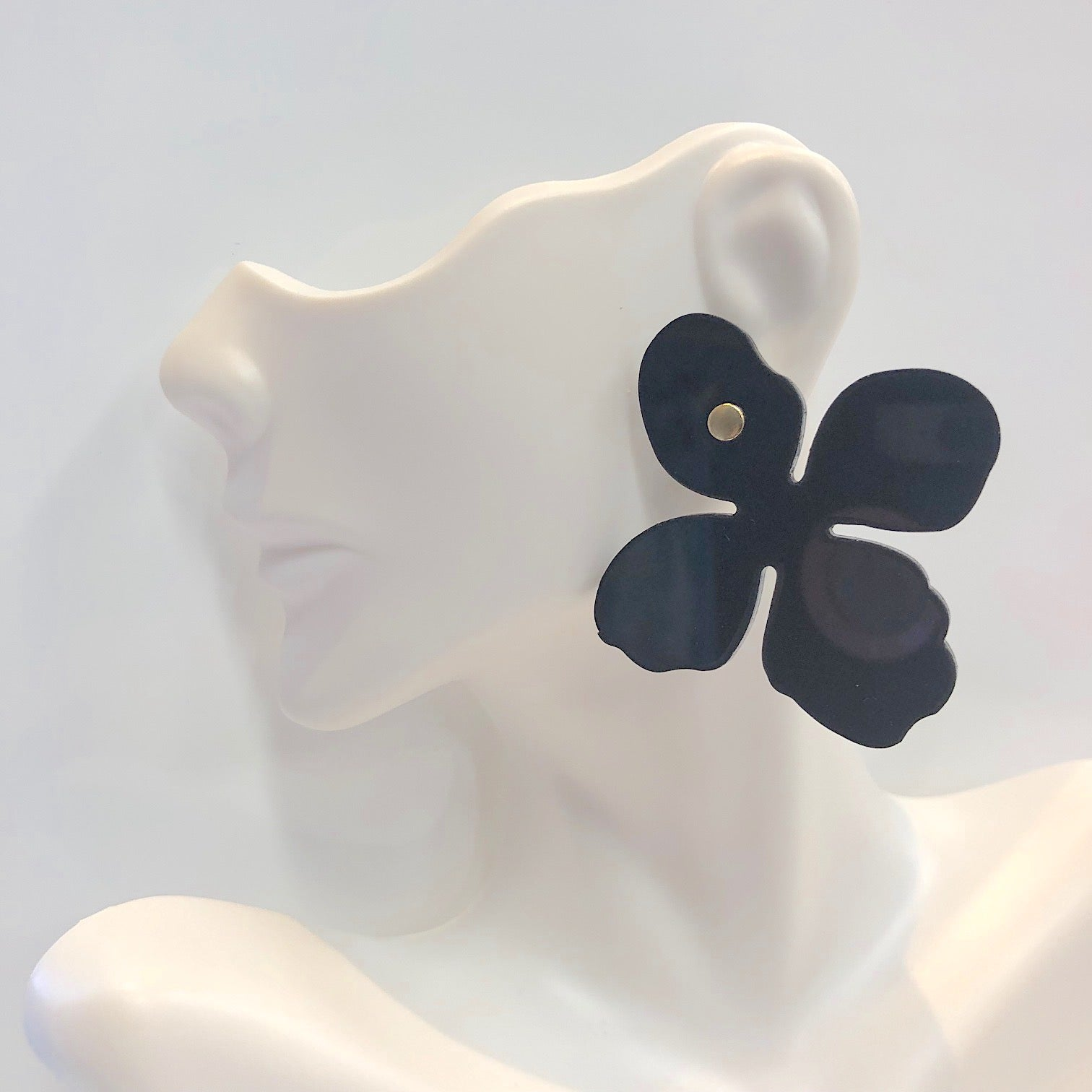 Lisi Lerch Maggie Acrylic Earring Black