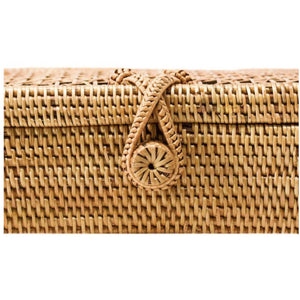 Load image into Gallery viewer, Palm Springs Wicker Clutch