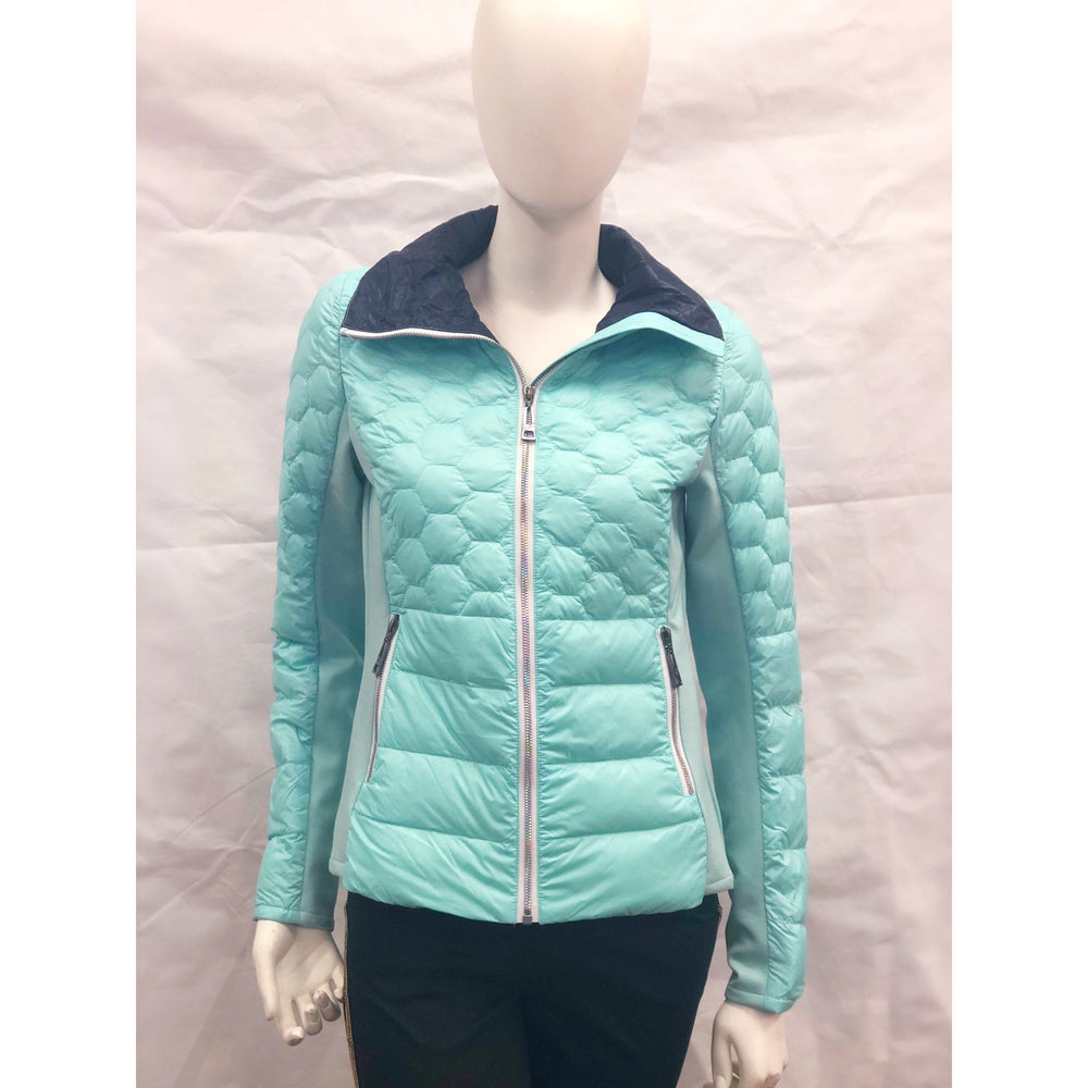 Skea Riley Jacket Aqua/Navy