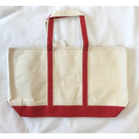 Crab & Cleek Custom Exclusive VT Tote Bag Red Tartan