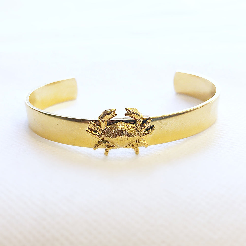 Small Gold Cuff Crab