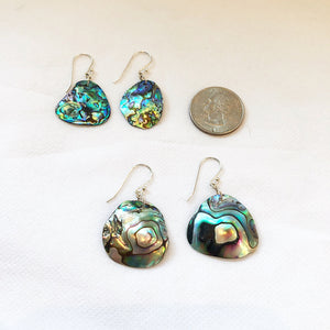 Load image into Gallery viewer, MVF Abalone Shell Dangle Earrings