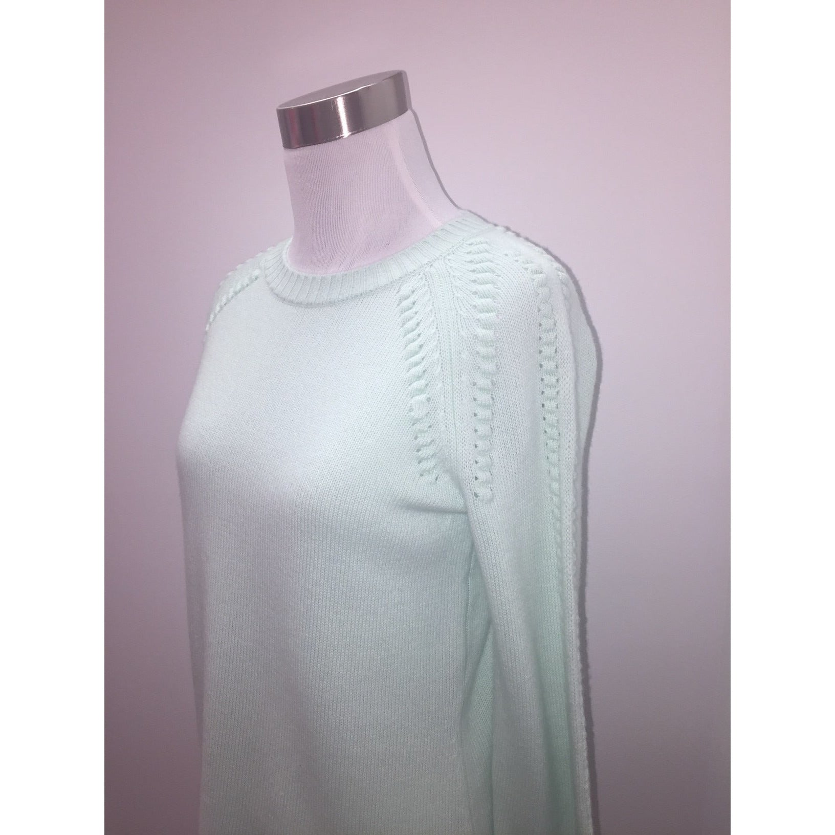 Sail To Sable Ball Sweater Mint