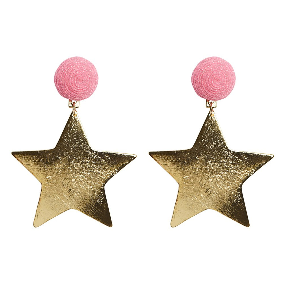 KEP Motif Star Earring Gold