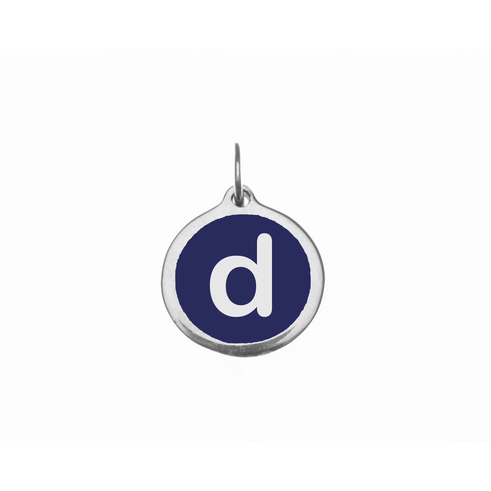 "Small Navy ""d"" Charm"