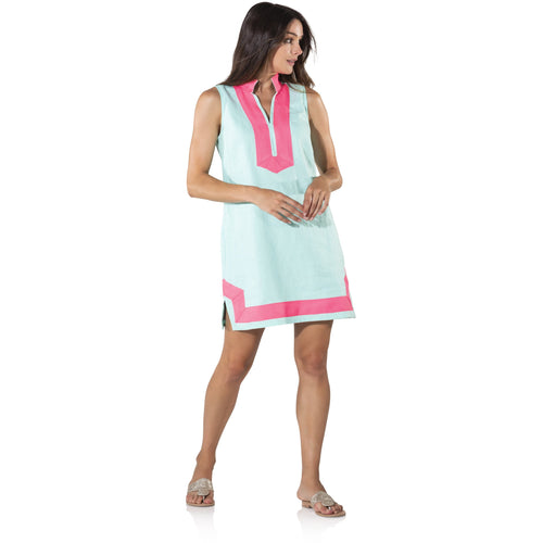 Sail To Sable Sleeveless Classic Tunic Beachglass