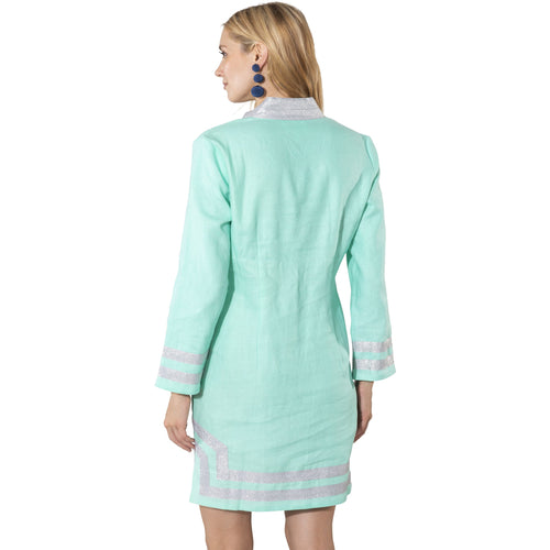 e946edefcc2 ... Sail To Sable Long Sleeve Classic Tunic Cabbage/Silver