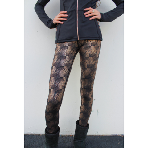 Skea Legging Black Rose Galaxy