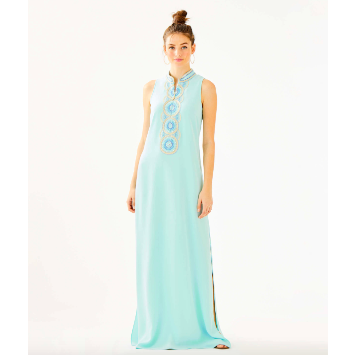 Lilly Pulitzer Jane Maxi Dress Whisper Blue