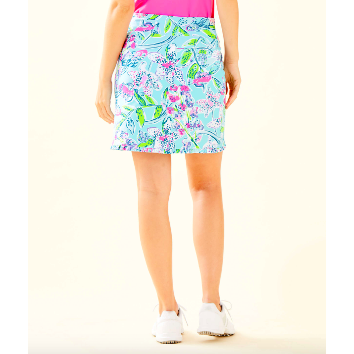 Load image into Gallery viewer, Lilly Pulitzer UPF 50+ Monica Skort Bali Blue Sway This Way