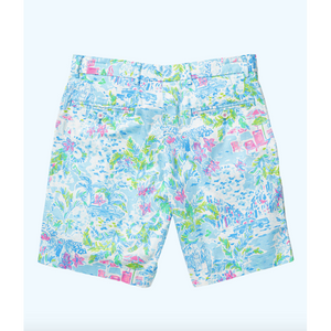 Lilly Pulitzer Mens Beaumont Short Multi What A Lovely Place