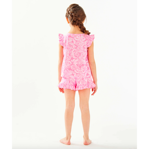 Lilly Pulitzer Girls Ramira Set Havana Pink Clawdia