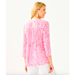 Load image into Gallery viewer, Lilly Pulitzer Marilina Tunic Havana Pink Clawdia