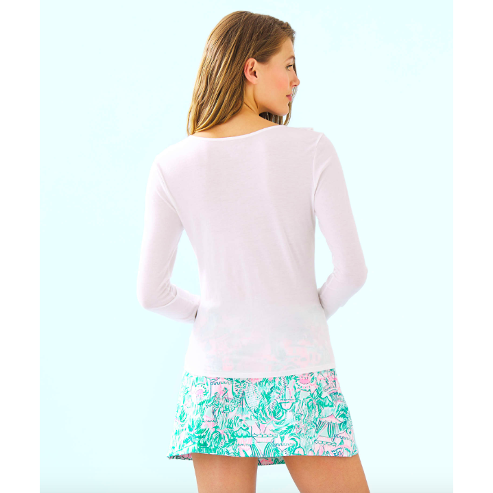Load image into Gallery viewer, Lilly Pulitzer Loreda Top Resort White