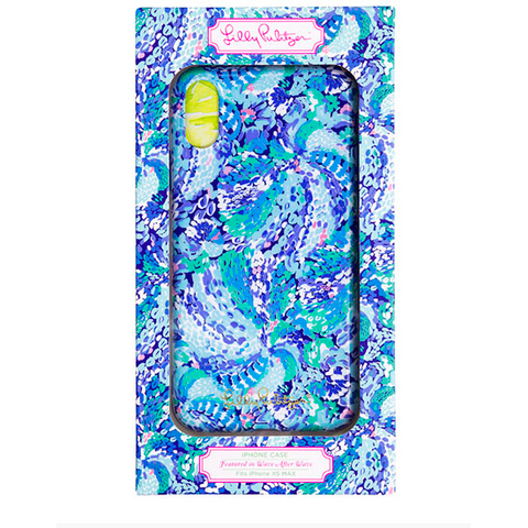 Lilly Pulitzer iPhone Case XS MAX Wave After Wave