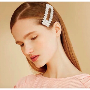 Load image into Gallery viewer, Dior Pearl Hair Clip