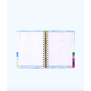 Lilly Pulitzer 2019-2020 Large Agenda 17 Month Multi Cheek To Cheek