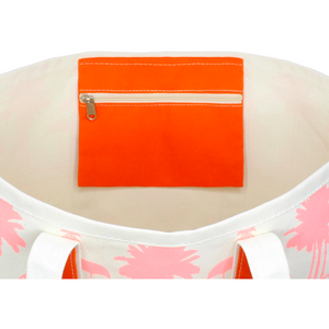Load image into Gallery viewer, Crab & Cleek x Emily McCarthy Flamingo Tote Bag