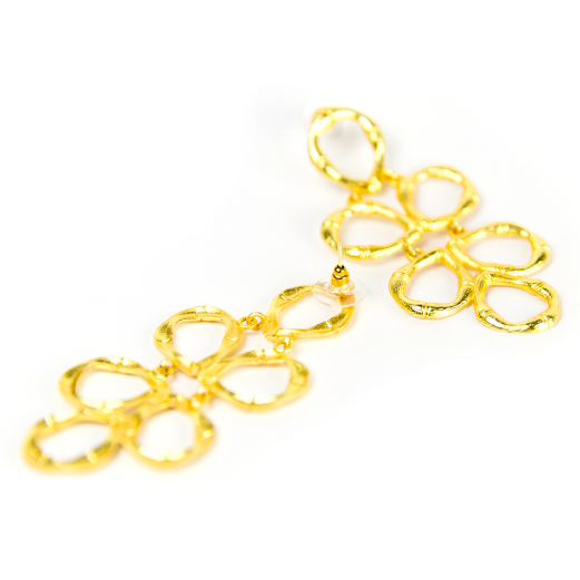 Lisi Lerch Bamboo Ginger Earring Gold