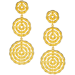 Load image into Gallery viewer, Lisi Lerch Bamboo Greta Earring Gold