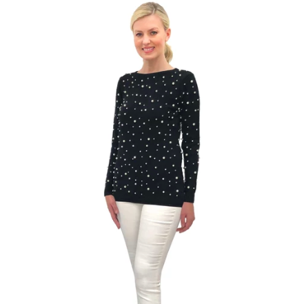 Love Token Bradley Pearl Sweater