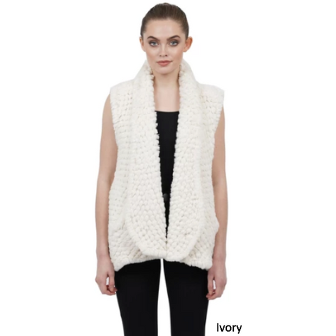 Love Token Ali Faux Fur Vest