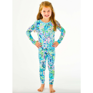 Lilly Pulitzer Girls Sammy Pajama Set Multi Lillys House