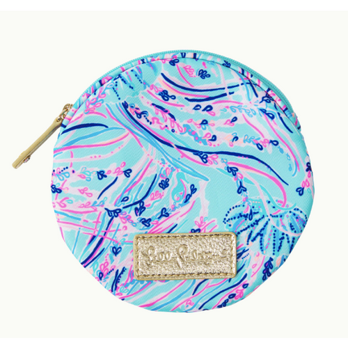 Lilly Pulitzer Zoete Pouch Bayside Blue Under The Moon Accessories Small