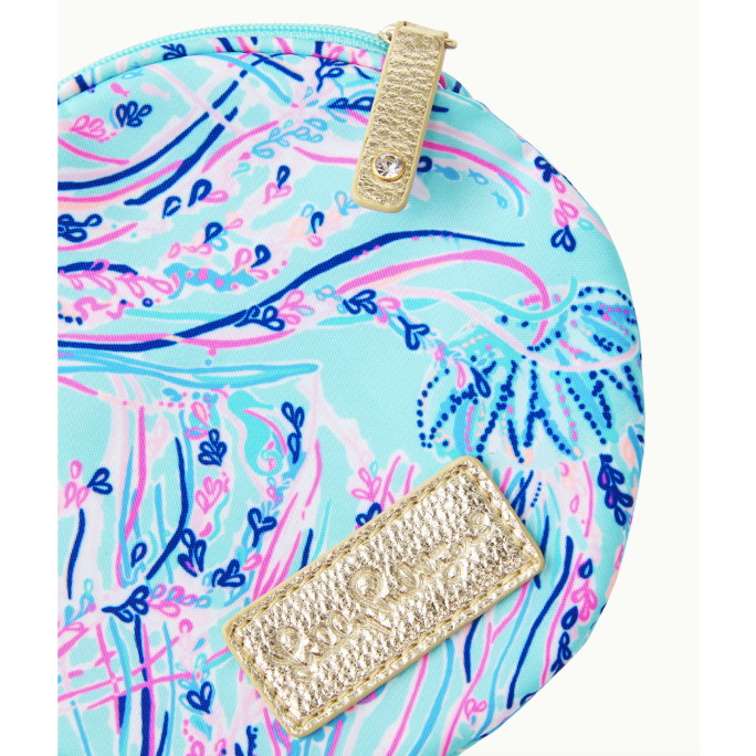 Load image into Gallery viewer, Lilly Pulitzer Zoete Pouch Bayside Blue Under The Moon Accessories Small