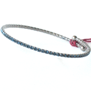 Single Expandable Bracelet Blue