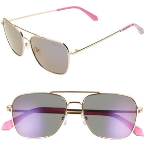 Lilly Pulitzer Kate Pink Tropics Sun Drenched Sunglasses