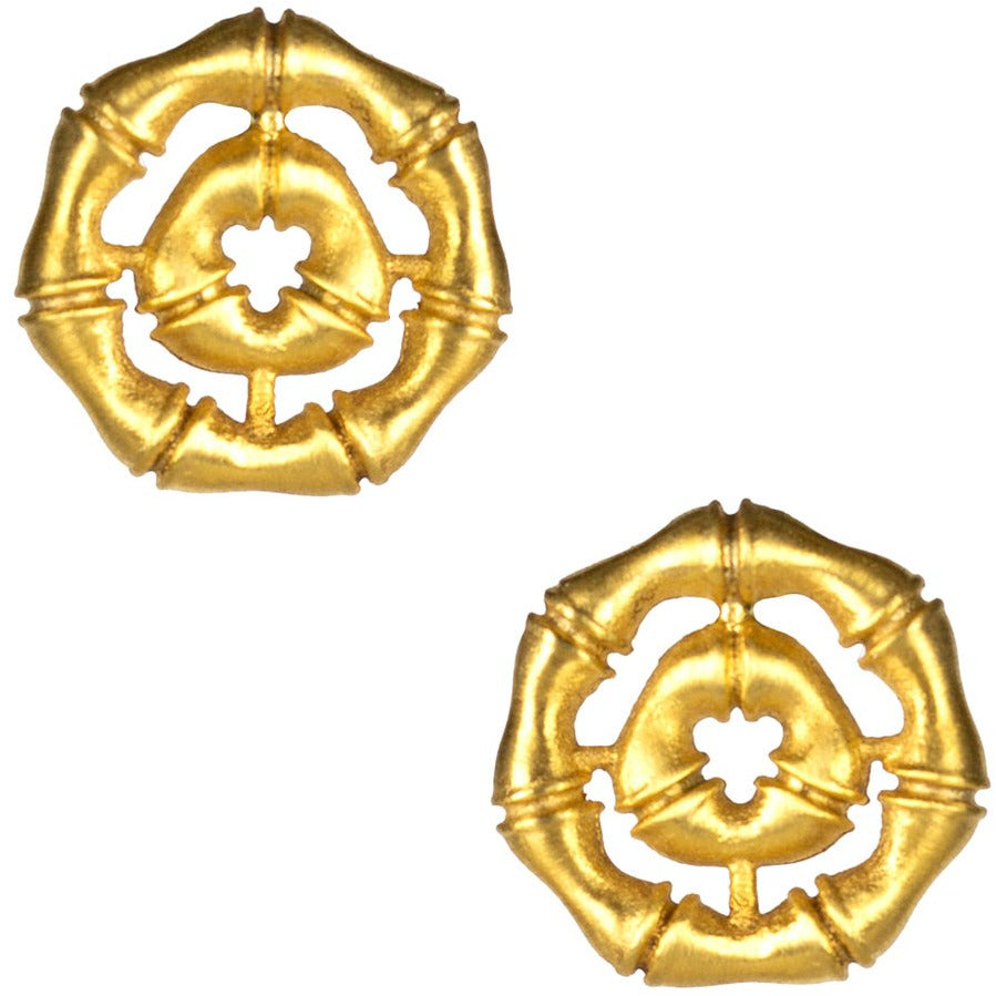 Lisi Lerch Bamboo Gold Stud