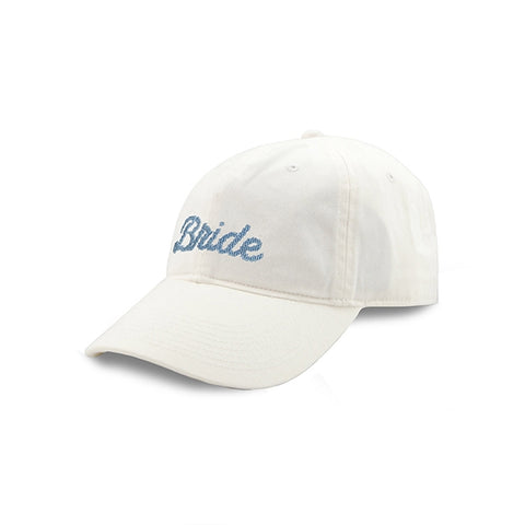Smathers & Branson Bride Needlepoint Hat (White)
