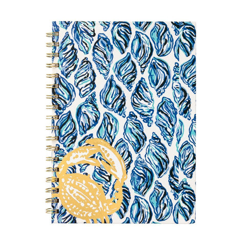 Lilly Pulitzer Notebook Hardcover Drop In