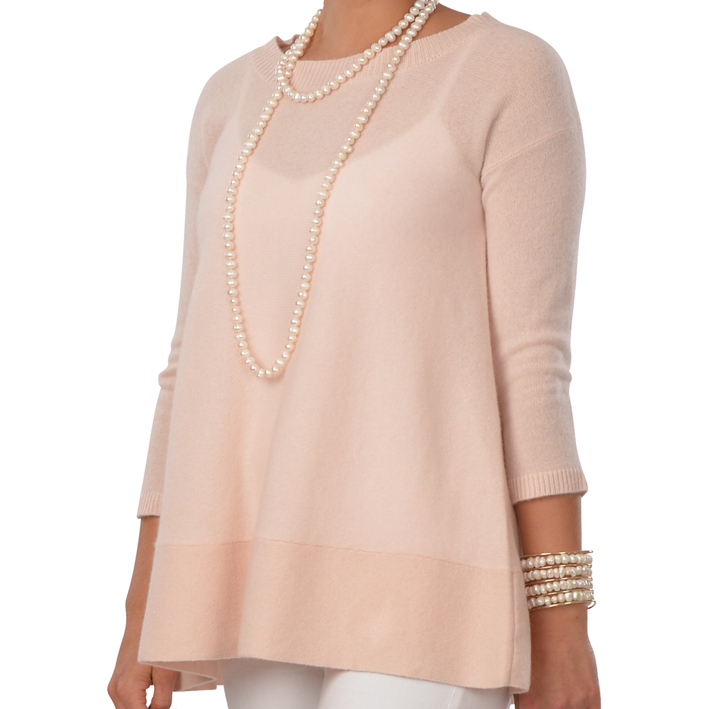 Cortland Park St. Tropez Sweater Light Pink