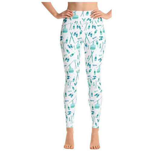 Hello Dobson Apres Ski Aspen Leggings Blue